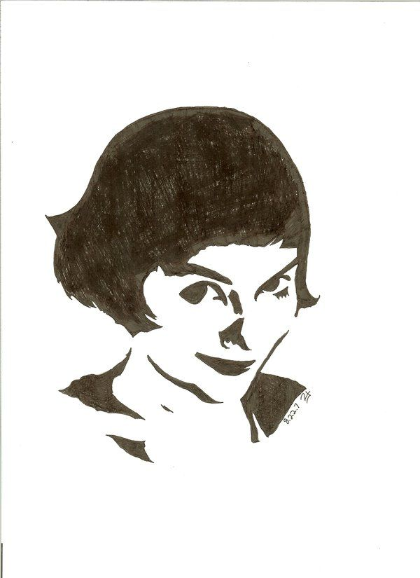 Amelie Poulain Desenhos Faceis