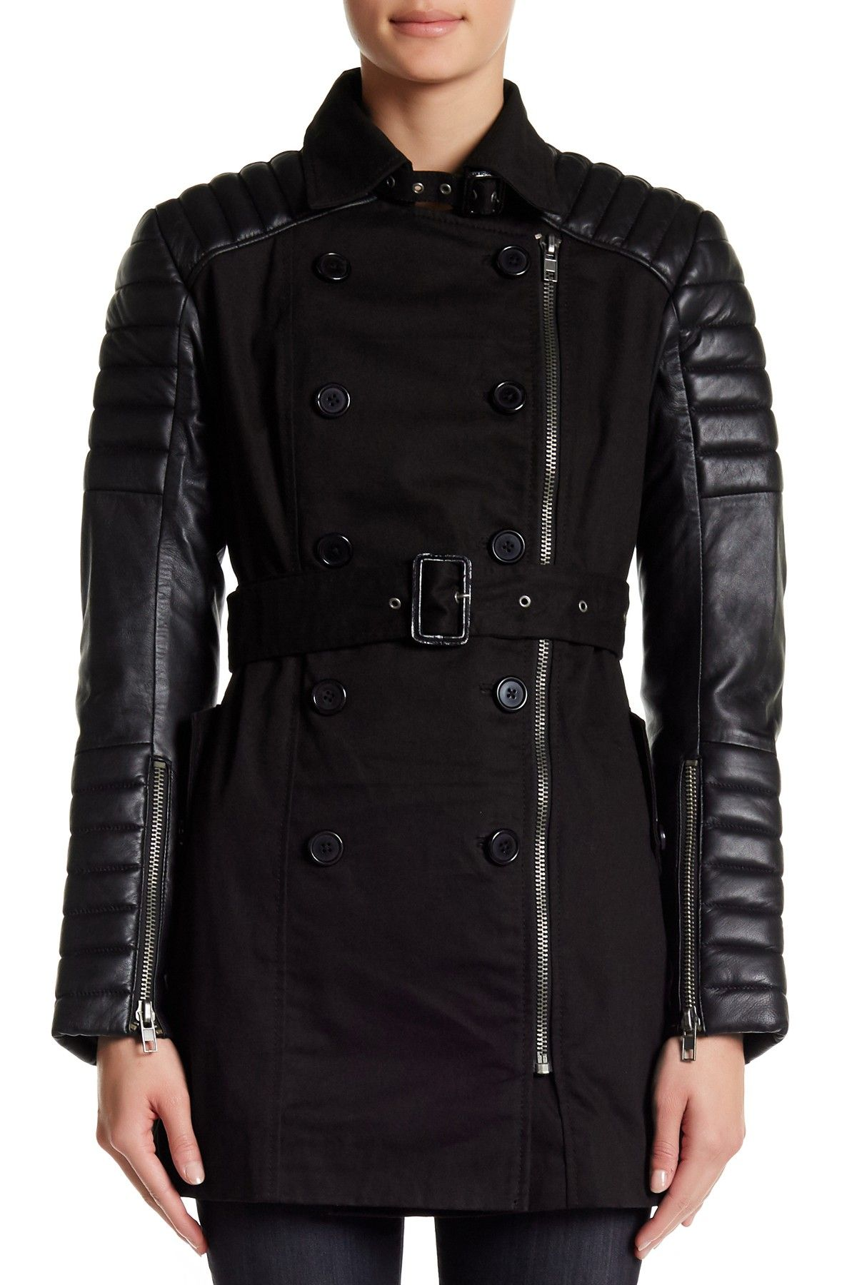 W118 by Walter Baker Keanu Trench Coat Trench coat