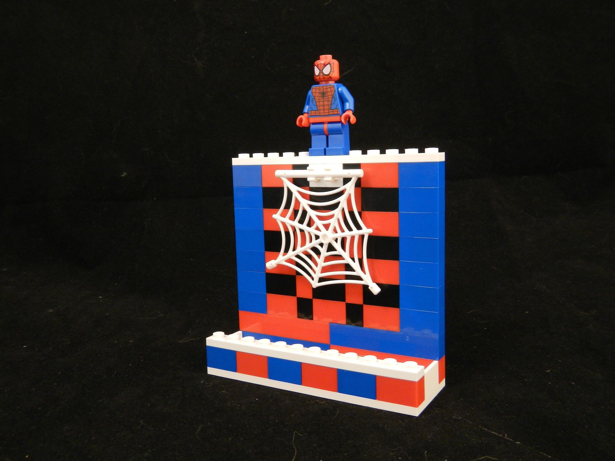 Spider man lego business card holder lego pinterest business spider man lego business card holder colourmoves