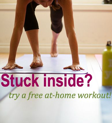 4 free athome workouts no special equipment needed yoga