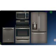 gunmetal grey appliances Slate appliances, Kitchen