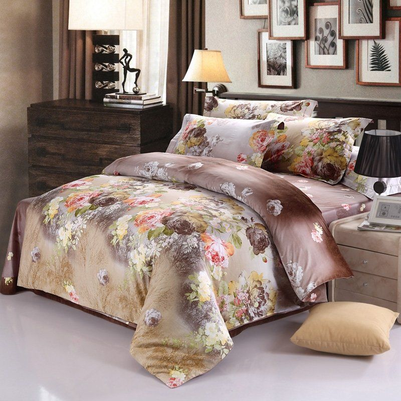 Brown Full Size Bedding Bedspread Bedroom Sets Rustic