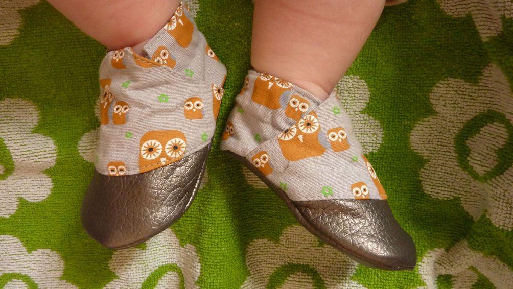chaussons hiboux!