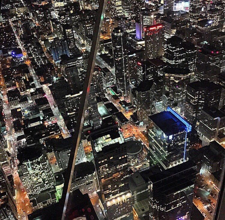 Cn tower, Canada. Views from the 6
