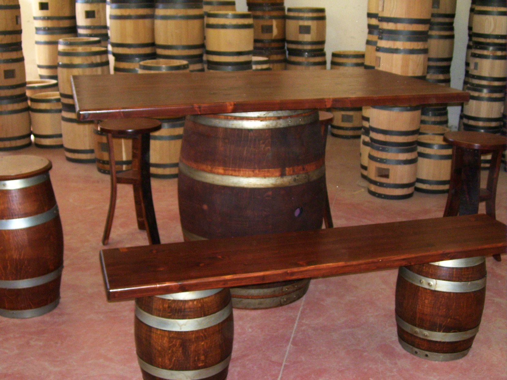 1279 Tavolo da birreria e osteria da 1,5 metri con