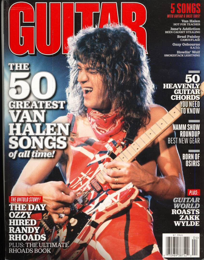 Undefined Van Halen Eddie Van Halen Guitar
