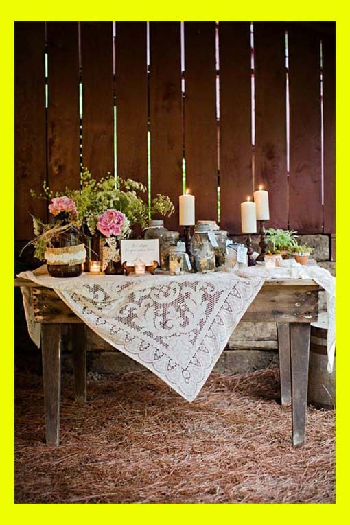 Cheap country themed decor