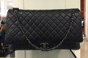 770ea033cb7b Chanel XXL Flap Bag From Spring/Summer 2016 Act 2 Collection – Spotted  Fashion
