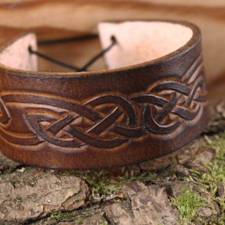 bracelet cuir homme medieval