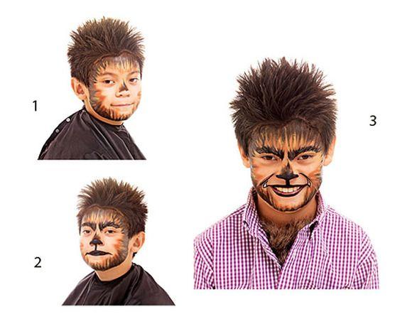 Maquillaje de Hombre Lobo Maquillaje Pinterest - maquillaje de vampiro hombre
