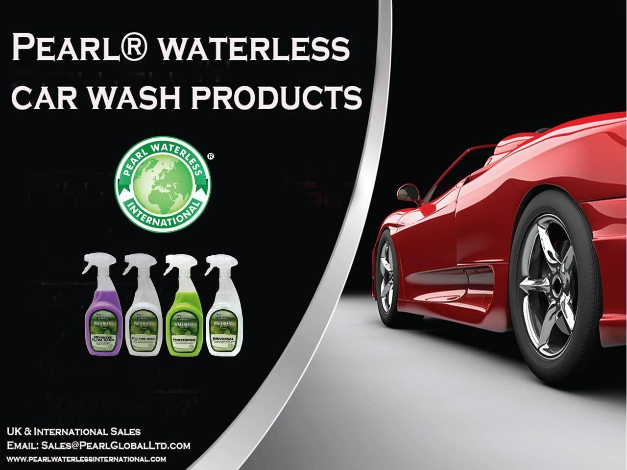 Pearl® Waterless Car Wash Products Waterless car wash