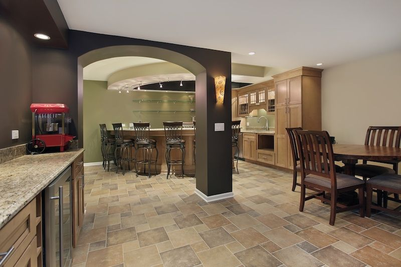 Basement Interior Design Remodelling ways to streamline your basement remodeling costs | basement