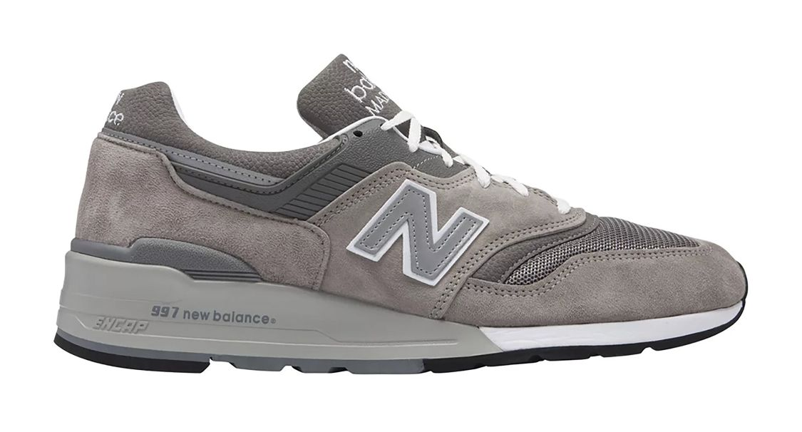 Grey M997GY in 2020 New balance, Usa shoes, New balance 998