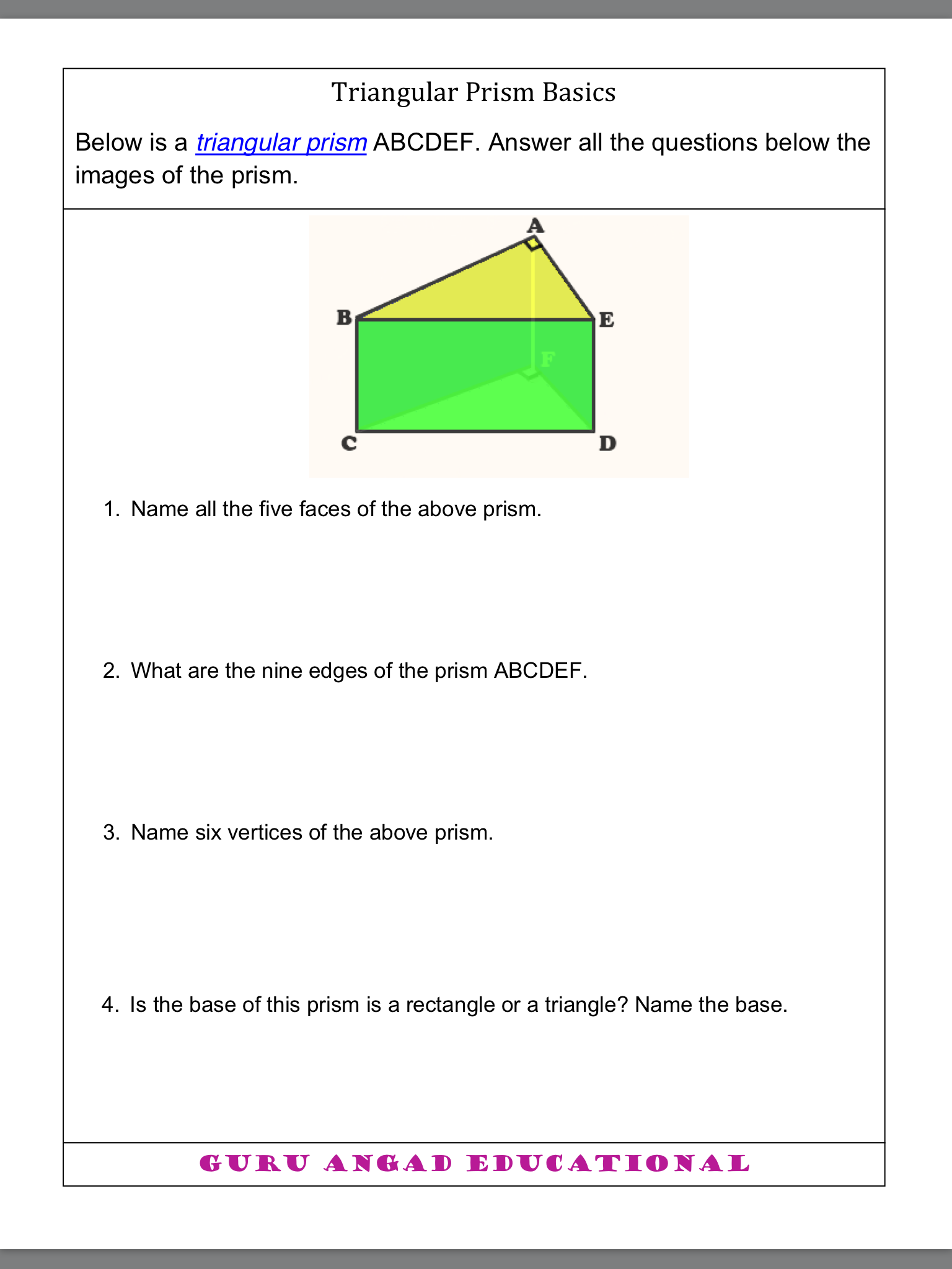 Pin By Educ T14b On Worksheets