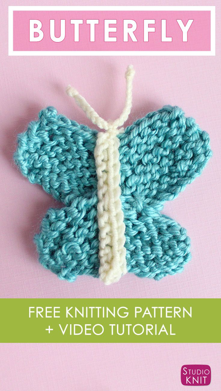 How a crochet butterfly knits and where it can be used 98