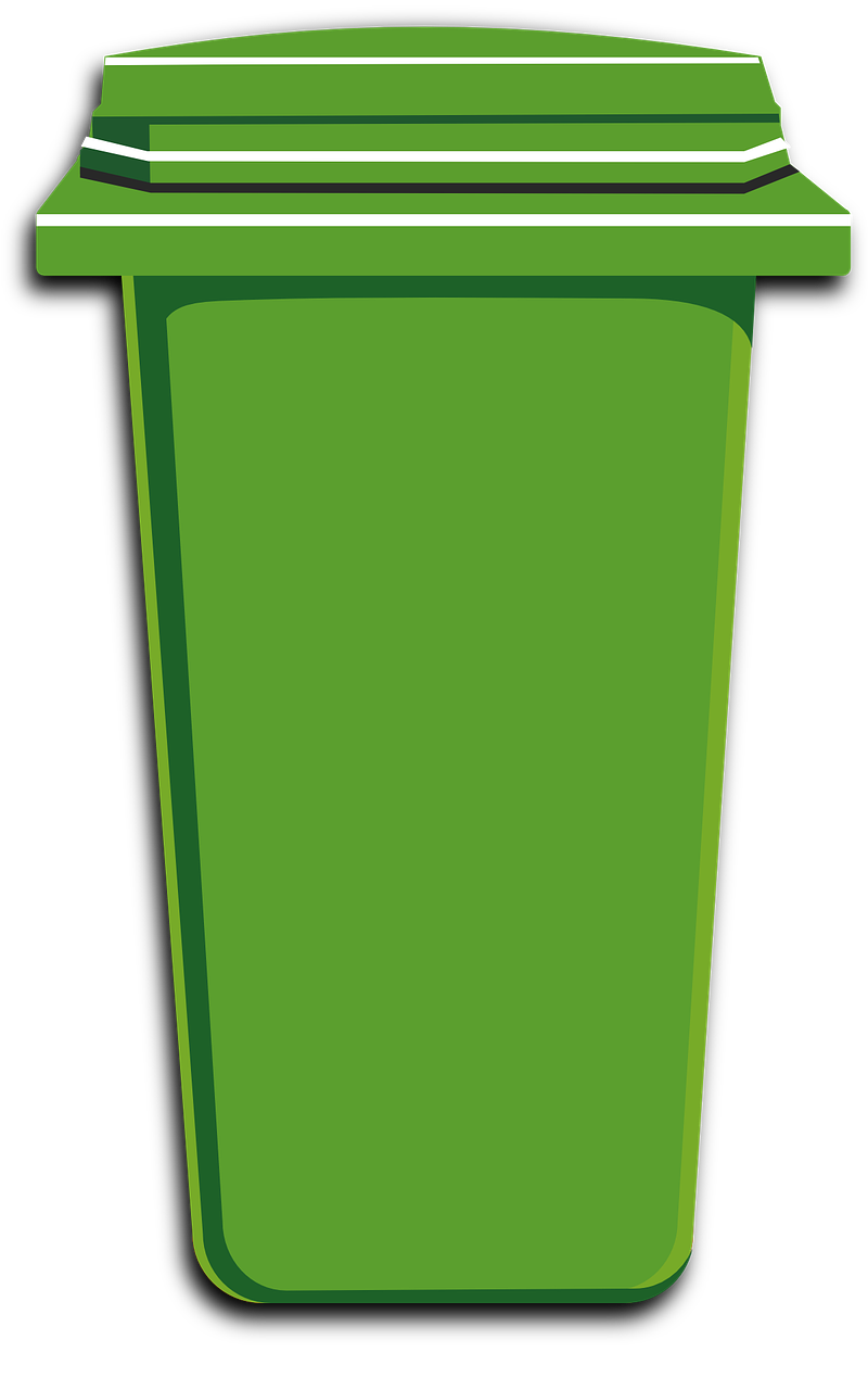 Free Image On Pixabay Green Trash Bin Can Plastic Trash Can Canning Garbage Containers