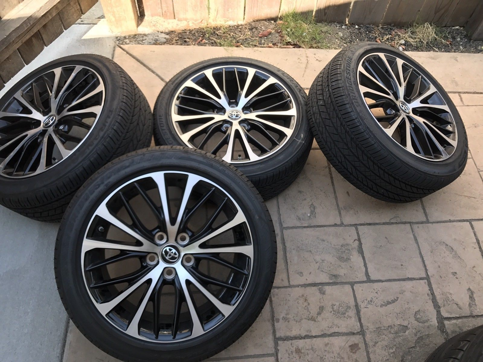 awesome great 2018 toyota camry 18 oem wheels tires factory rims tpms 2017 2018 check more. Black Bedroom Furniture Sets. Home Design Ideas