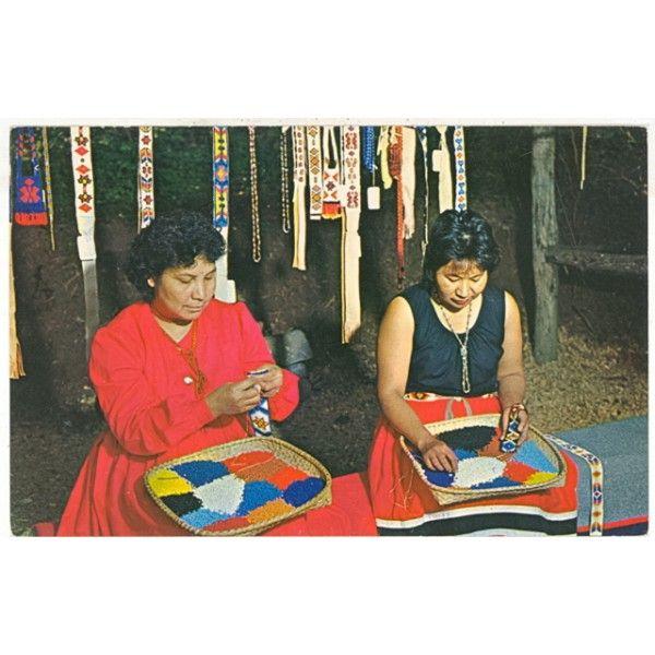 Cherokee Women, Cherokee, NC Postcard.