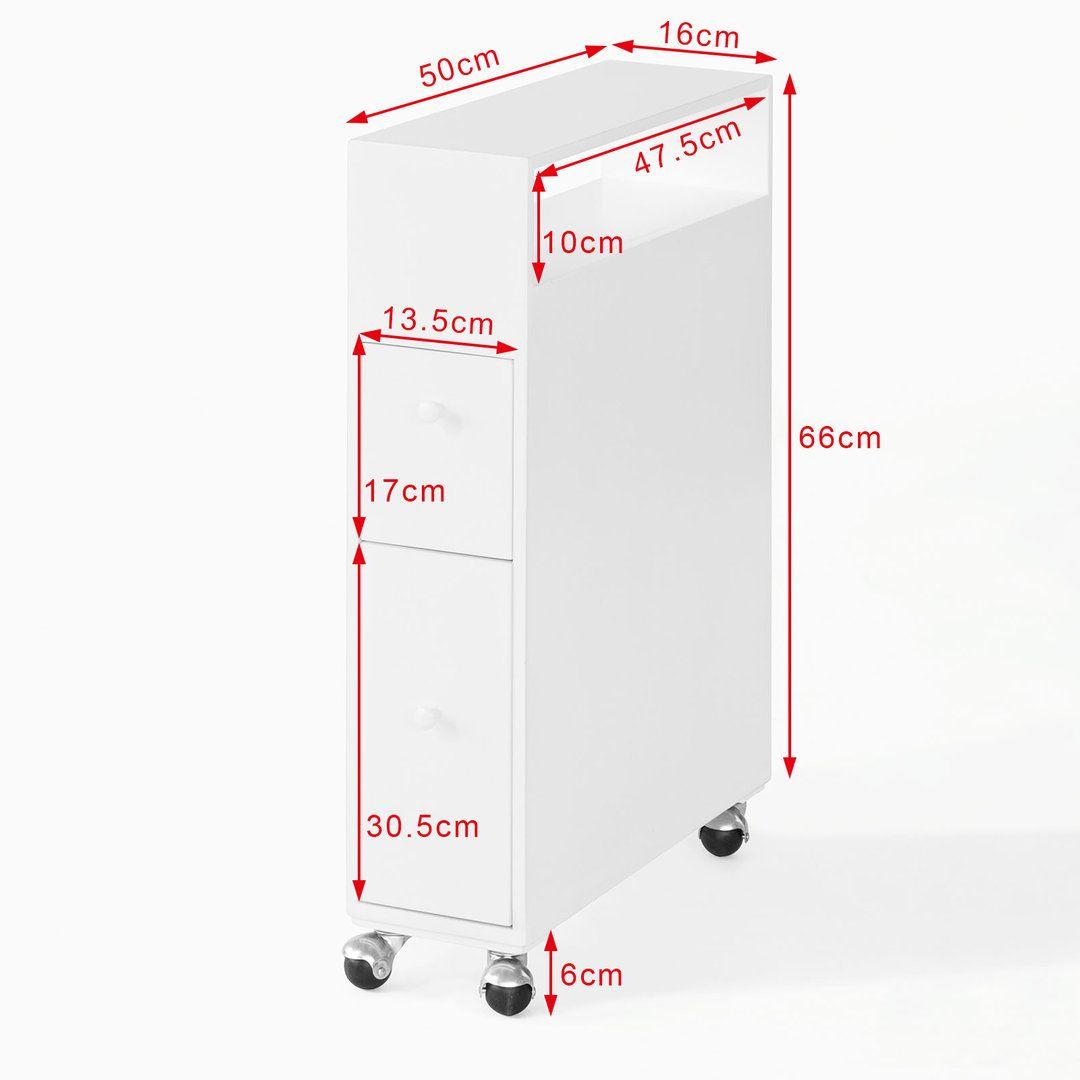 Sobuy Badregal Badezimmerschrank Nischenregal Nischenwagen Frg51 W In 2020 Speicherideen Badezimmer Aufbewahrung Nischenregal