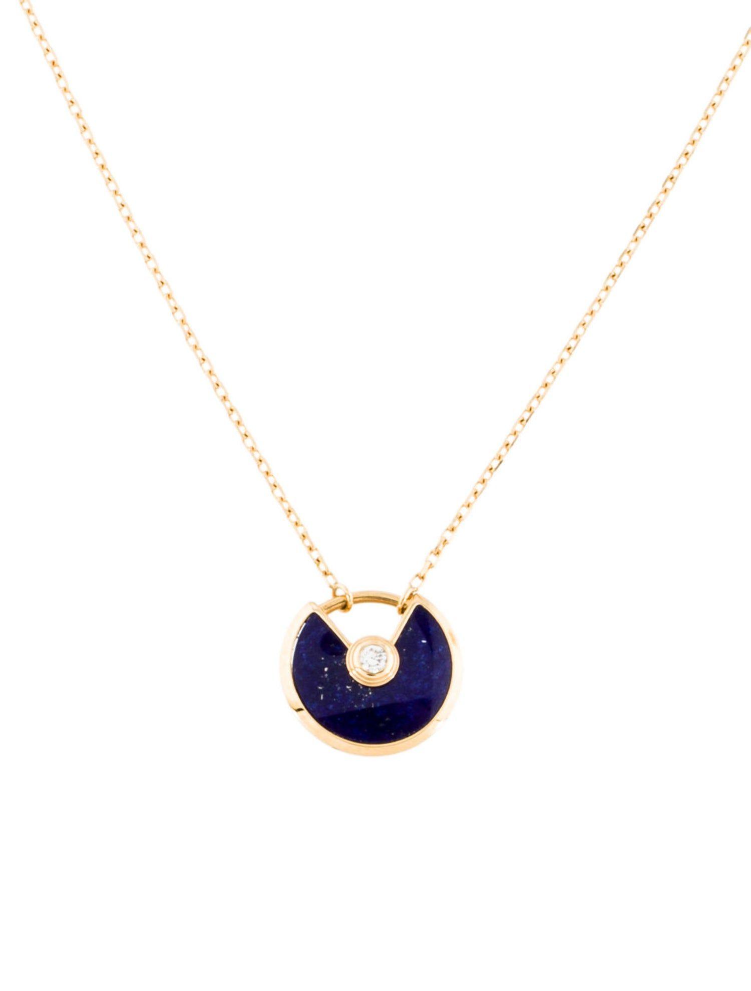 Cartier Lapis Lazuli Diamond Amulette De Cartier Necklace Sponsored Lazuli Amp Cartier Cartier Necklace Lapis Lazuli Jewelry Lapis Lazuli