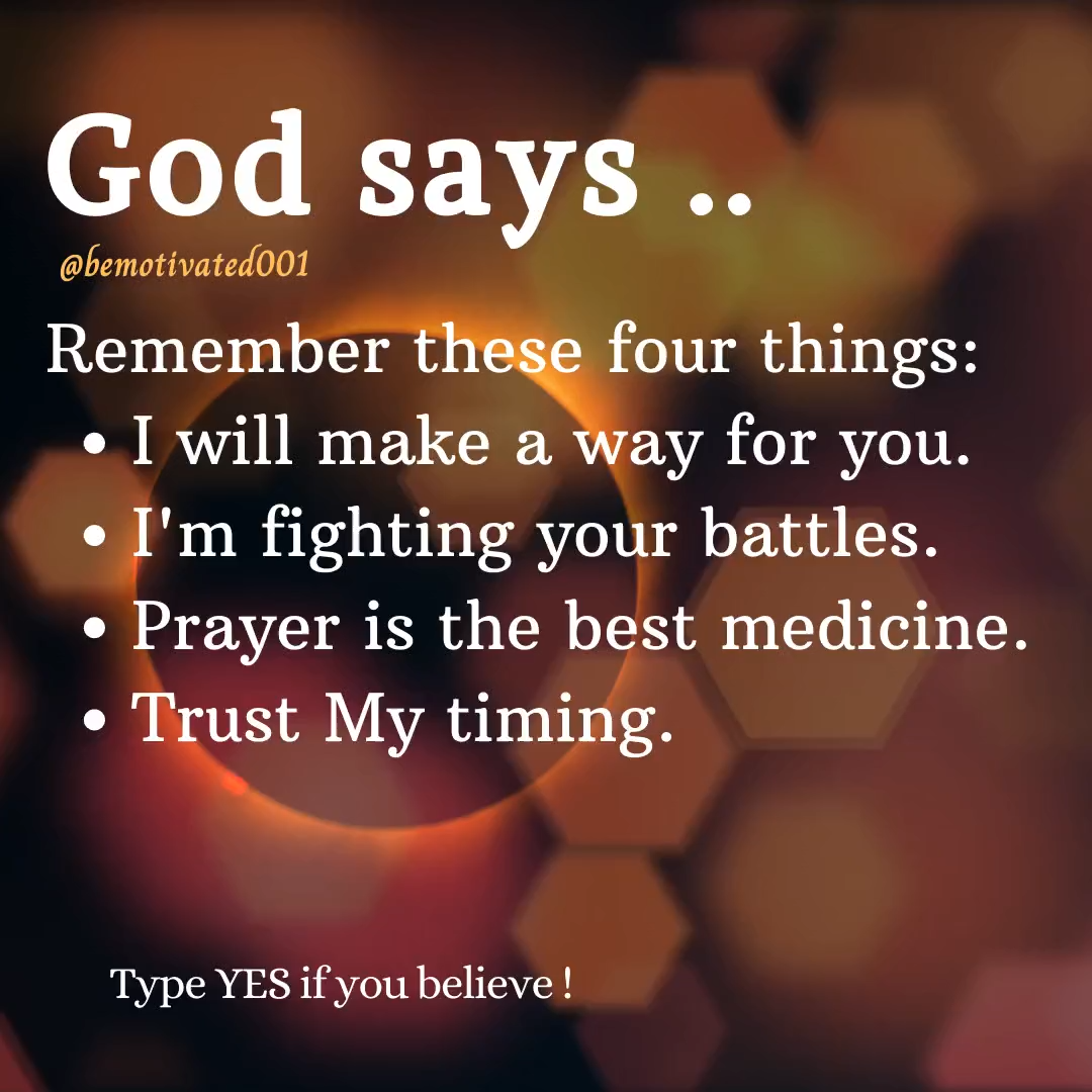 God Says ...