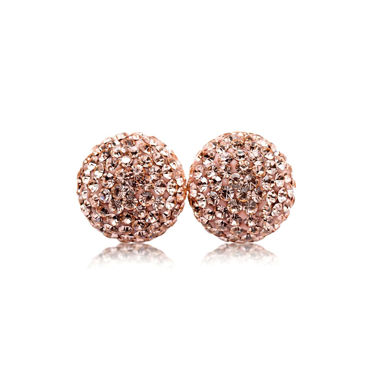6ef880b18 Rose Gold Sparkle Ball Studs Bought and now I'm hooked... Need them in  every colour!