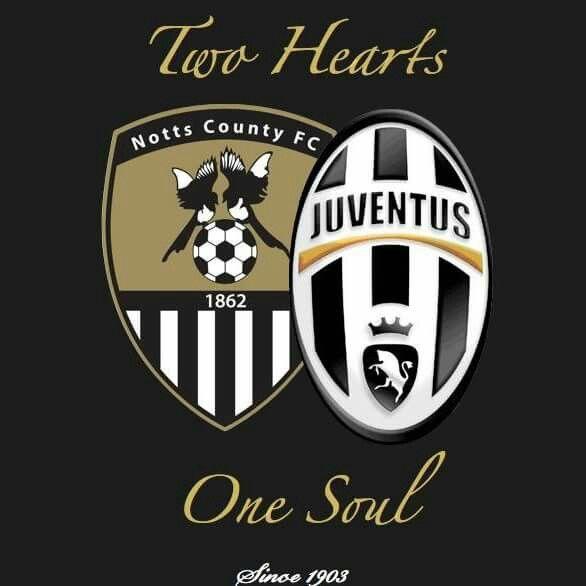 Notts County   Juventus club badges  1b9718830