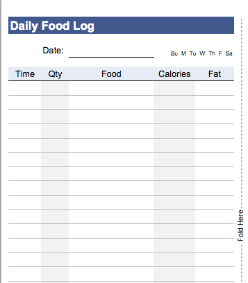 10 excel templates to track your health and fitness bullet journal