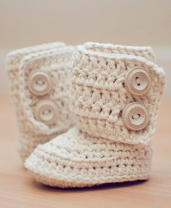 Crochet Pattern for Baby Boots, Crochet Boot Pattern, Booties ...