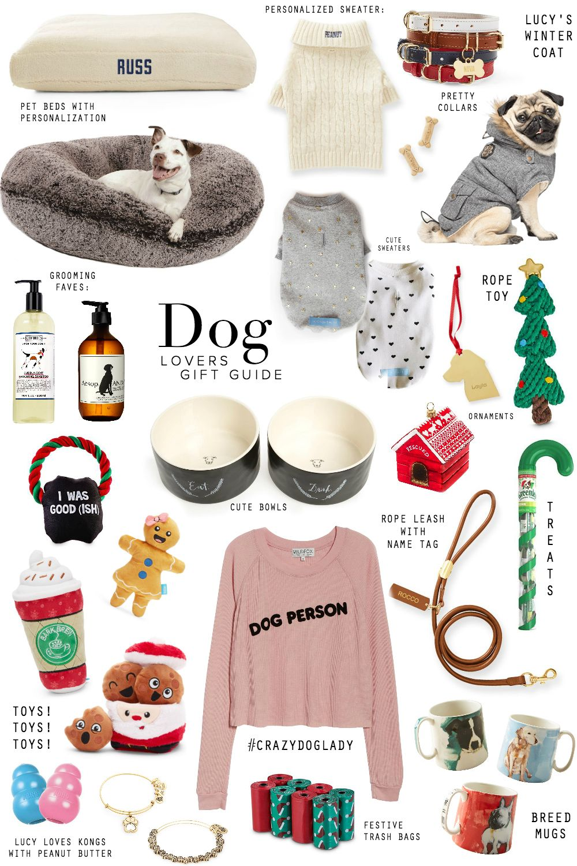 Gift Guide Dog Lovers Stephanie Sterjovski Dog Christmas