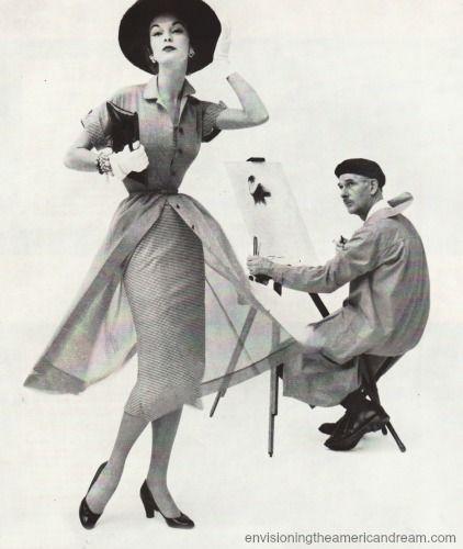 París Artista y modelo de 1950