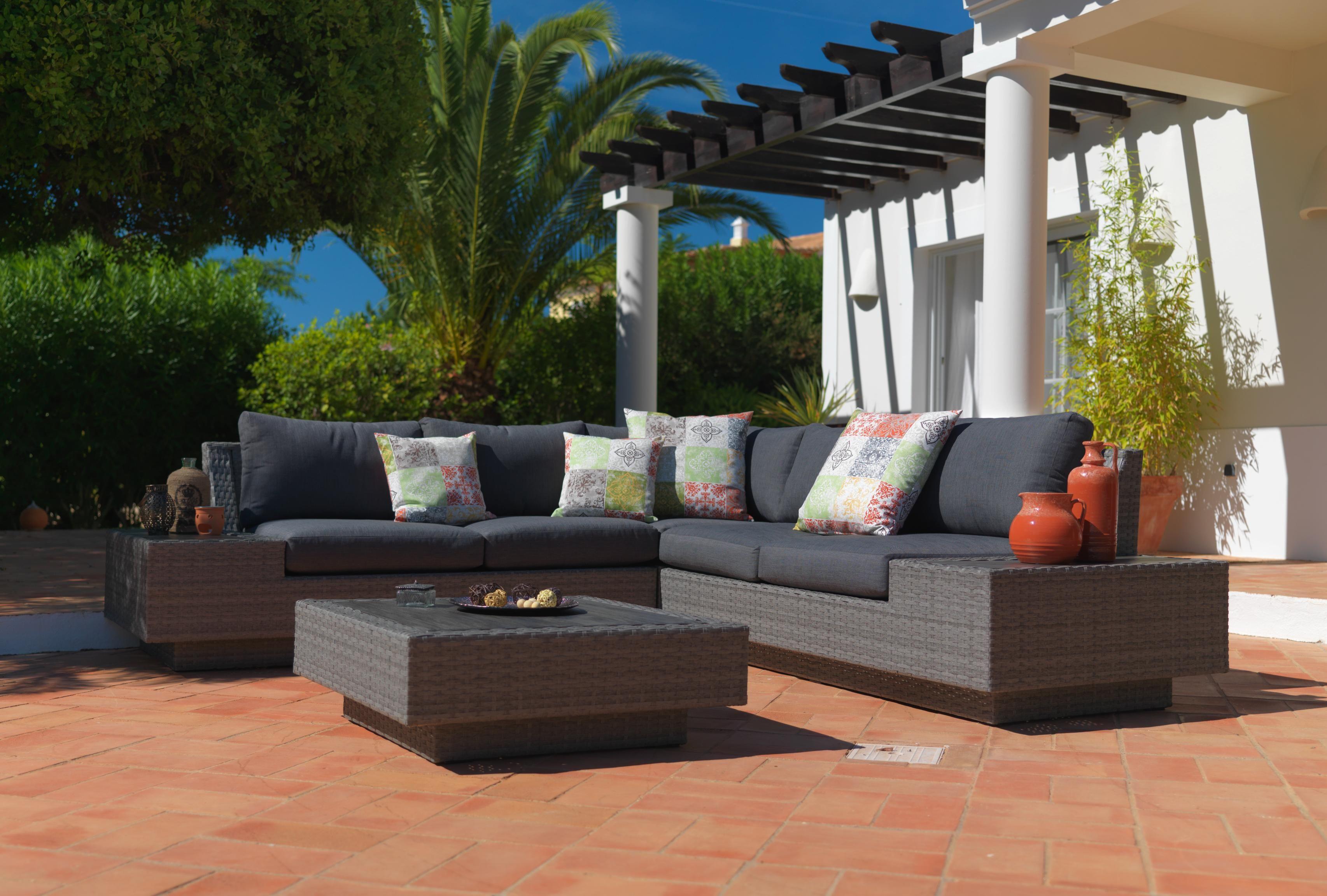 Loungegarnitur 4 Teilig Von Ambia Garden Lounge Mobel Outdoor Dekorationen Lounge Garnitur