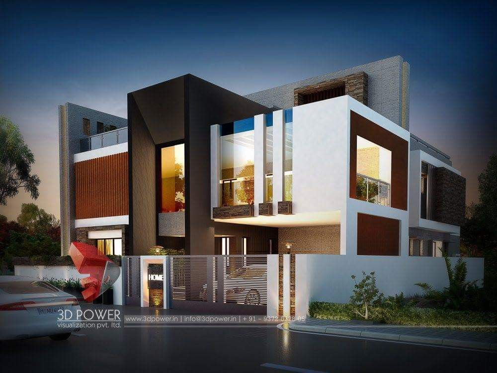House elevation modern plans design bungalow exterior architecture also in pinterest rh