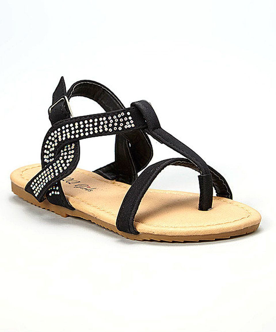 Take a look at this QQ Girl Black Julia Sandal today!