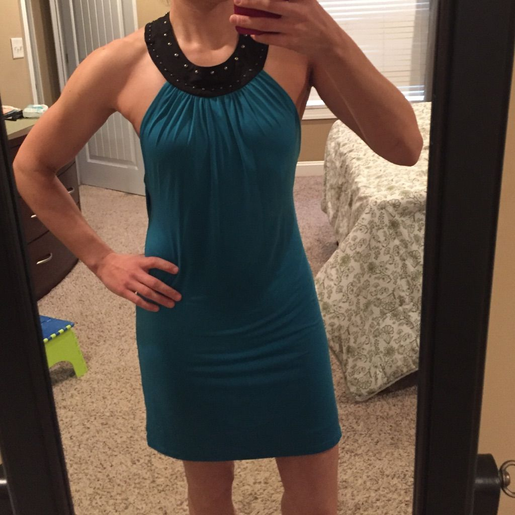 New frederickus of hollywood teal mini dress med products