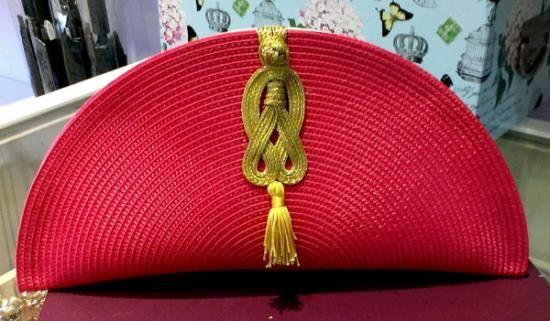 bolso rafia y seda realizado a mano  4fe52000a39a