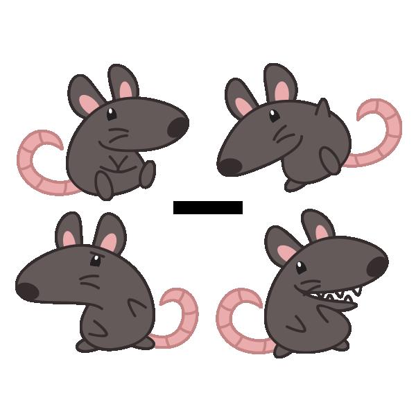 Little Black Rat by Daieny on DeviantArt
