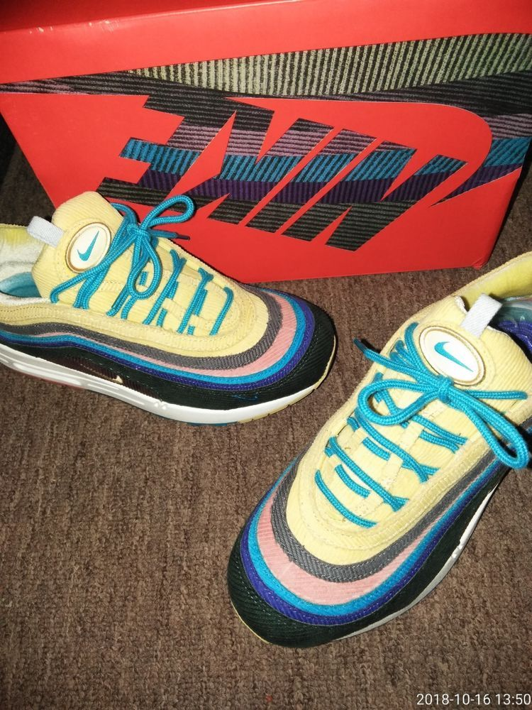the best attitude 79017 54ed0 Nike Air Max 1 97 SW Sean Wotherspoon W  Extra Laces Men s Size 9  fashion   clothing  shoes  accessories  mensshoes  athleticshoes (ebay link)