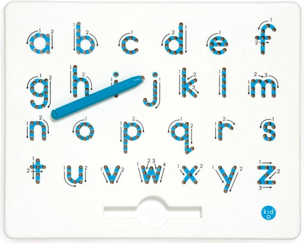 Kid O Magnatab A Z Kleine Letters Leer Schrijven Educatief Speelgoed Kleurplaten Voor Kinderen