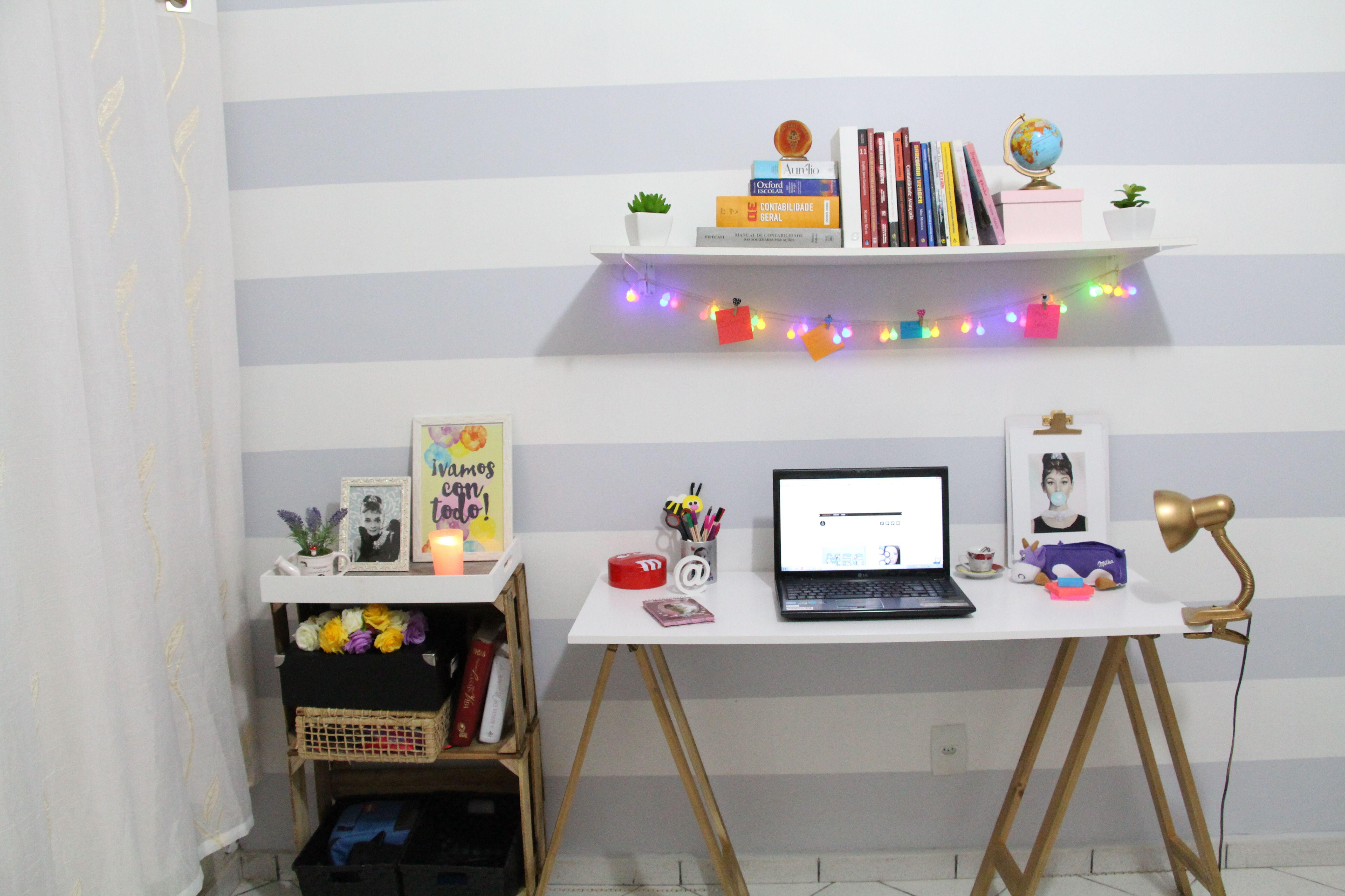 diy home office. D.I.Y. Como Montei Meu Home Office Sem Gastar Muito. Diy I