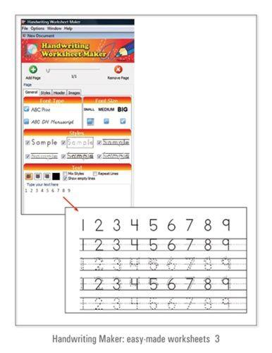 Handwriting Worksheet Maker Improve Handwriting Pinterest