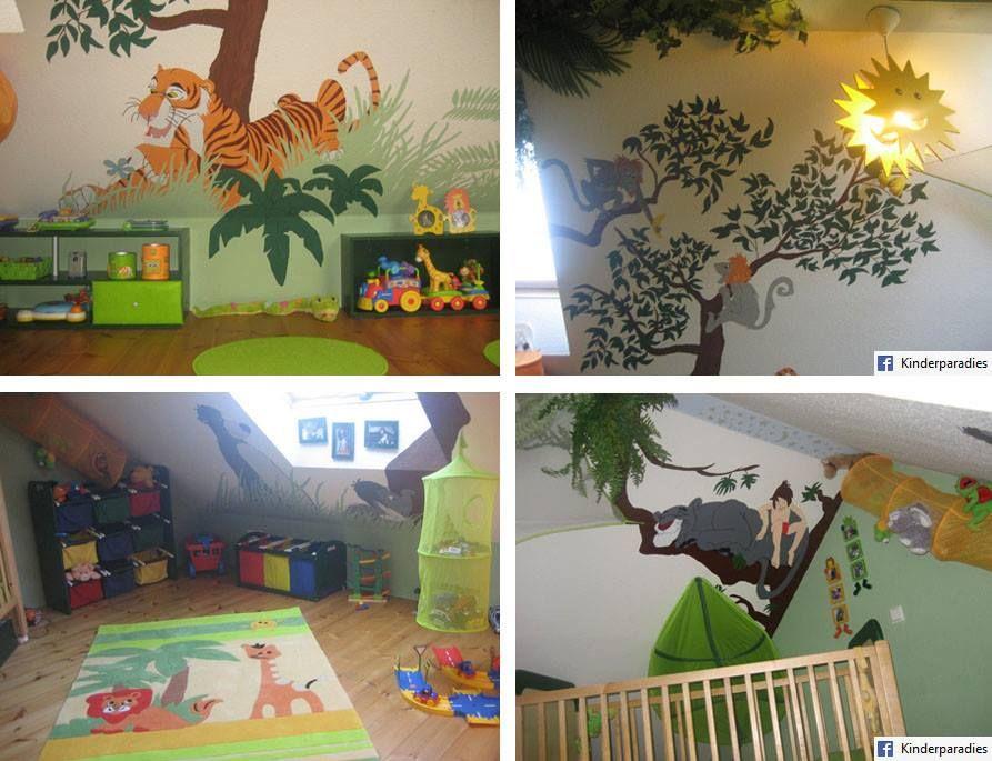 Noahs Dschungelzimmer Kinder Zimmer Kinderzimmer Babyzimmer Aufkleber
