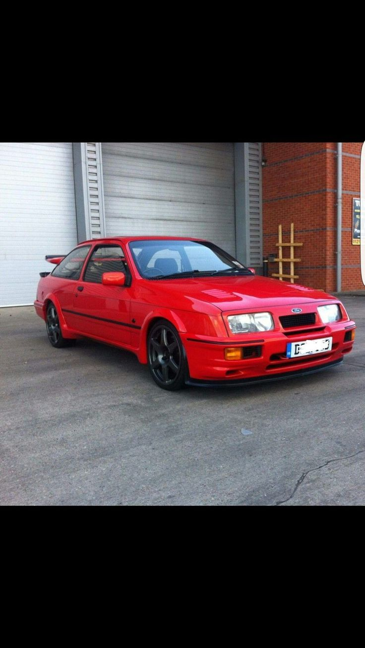 Nice Ford: Ford sierra cosworth 3 door 1987 with genuine rs500 parts ...