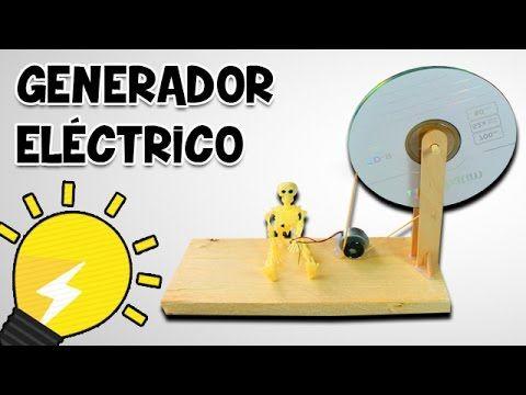 En video como hacer un peque o generador el ctrico casero - Mini generador electrico ...