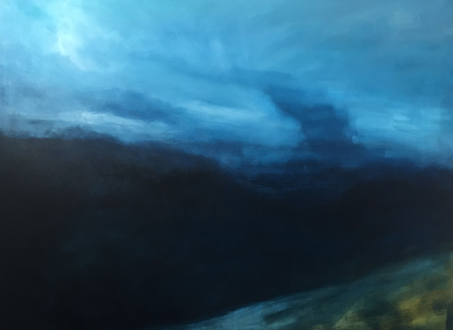 Blurred Landscape by Lily Rigby