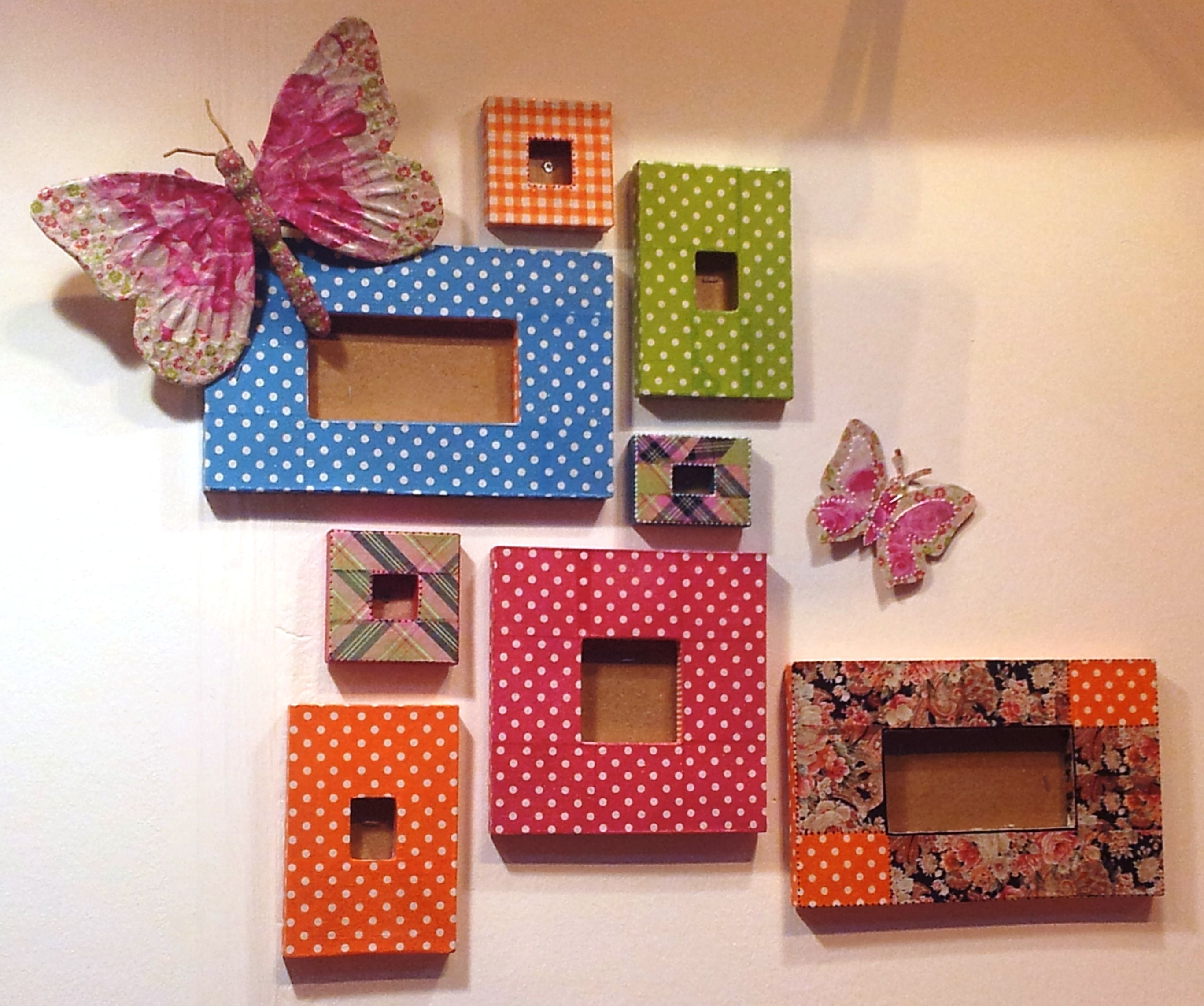 Decopatch picture photo frame decorating