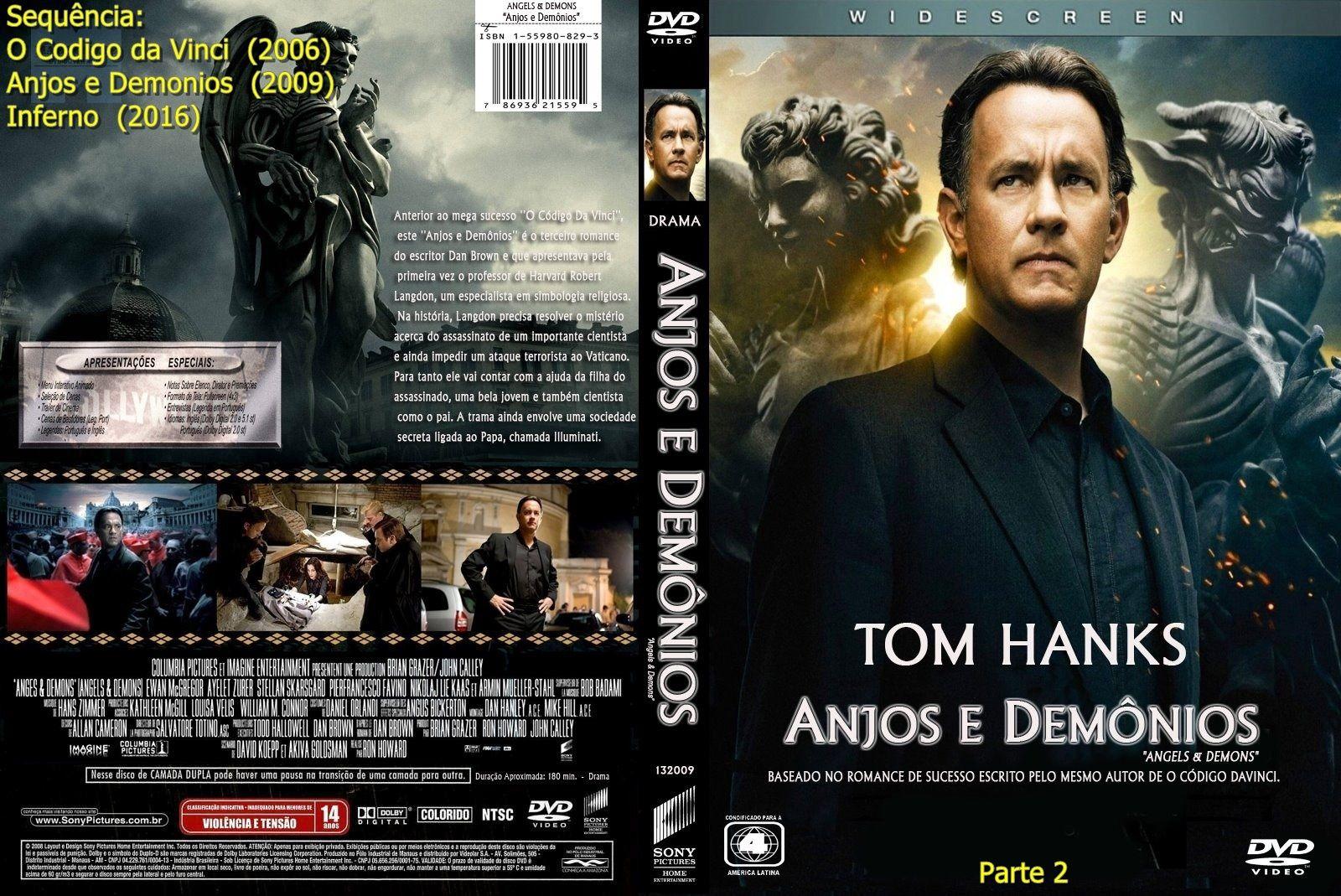 Anjos E Demonios 2009 Anjos E Demonios Capas Dvd Dvd