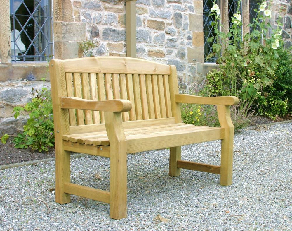 Emily 4ft Bench With Free Brass Plaque U0026 Cushion Link: Http://www