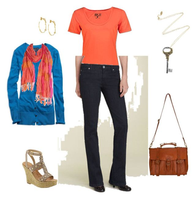 Sunday by jillgaither on Polyvore featuring polyvore, fashion, style, American Eagle Outfitters, BKE, KUT from the Kloth, Roberto Cavalli, Alex Monroe, GUESS, Subtle Luxury and clothing