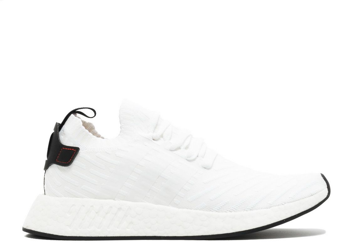 04a0df7ee Adidas NMD R2 Pk White Core Black Red By3015 2018 Purchase Shoe